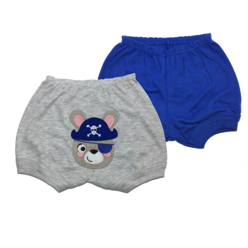 Kit Shorts 2 Unds Ursinho Pirata - Best Club - Tamanho P