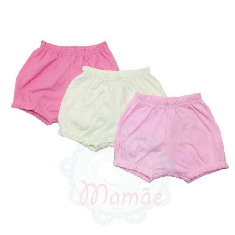 Kit Shorts Rosa - Best Club