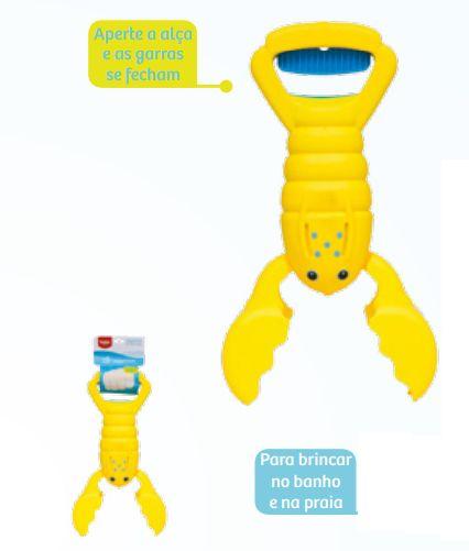 Lagosta Divertida Amarelo - Buba Baby