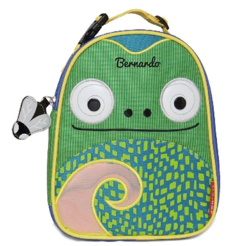 Lancheira Infantil Térmica Skip Hop Zoo - Camaleão