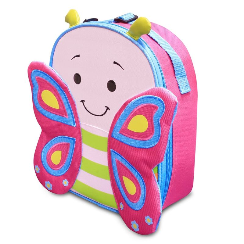 Lancheira Let´s Go Borboleta Cindy - Comtac Kids