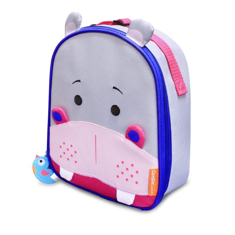 Lancheira Let´s Go Hipopótamo Frida - Comtac Kids