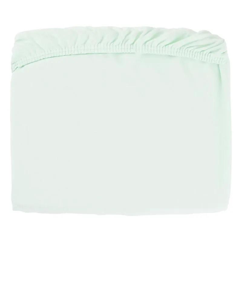 Lençol Berço Tipo Americano com Elástico Verde - Papi