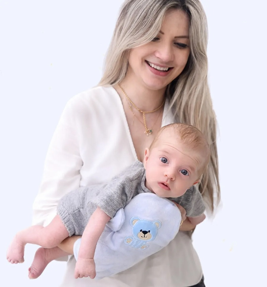 Luva Termica Abdominal Anticólica de Bebê - Zip Toys