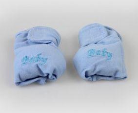 Luvas com Chocalho Azul - Zip Toys