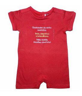 Macacão Curto Madrinha - Empório Baby