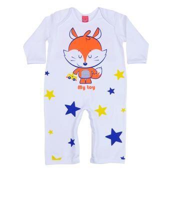 Macacão Pijama Raposinha - GetBaby - Tamanho G