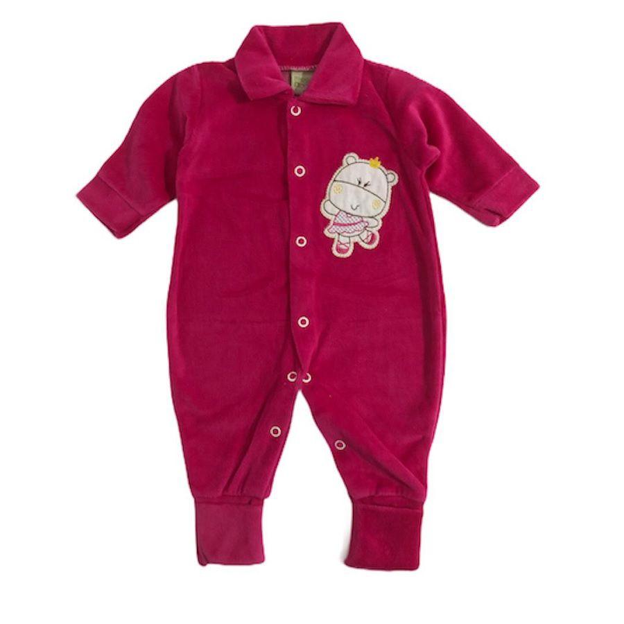 Macacão Plush Smoby - Hipopótamo Rosa