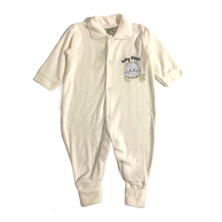 Macacão Plush Smoby - Hippo Baby Creme