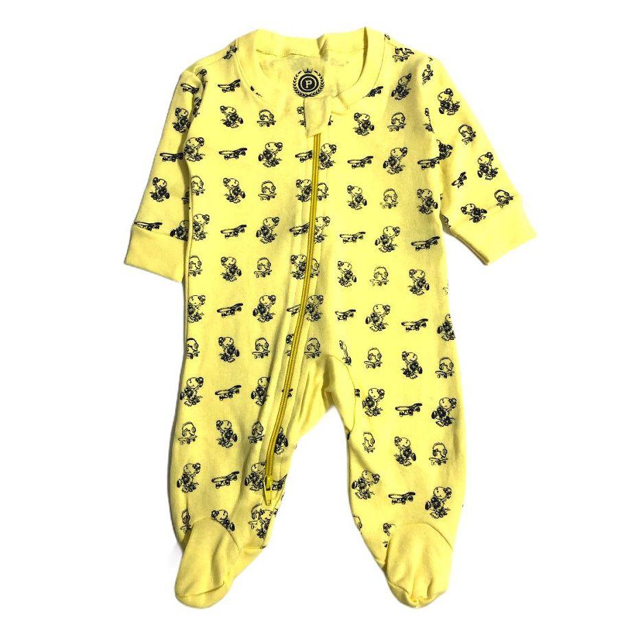 Macacão Suedine Dino Amarelo - Patrulha Street