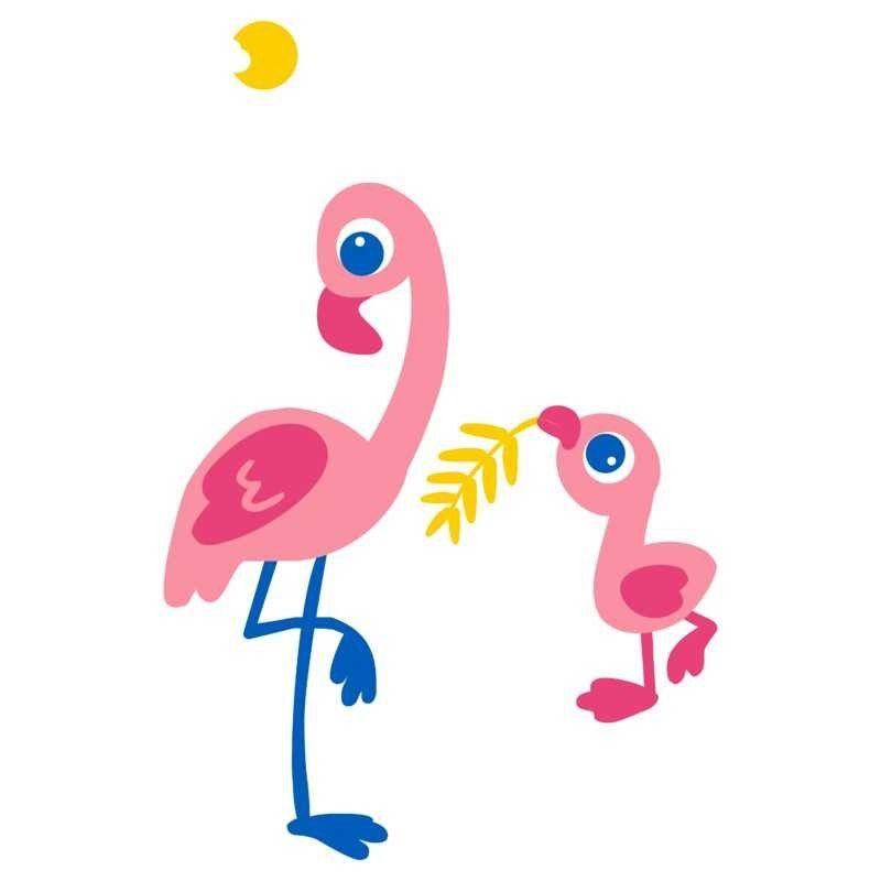 Mamadeira Avent Petala Decorada - 260ml Flamingo - Philips