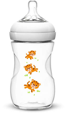 Mamadeira Avent Petala Decorada - 260ml Tigre - Philips
