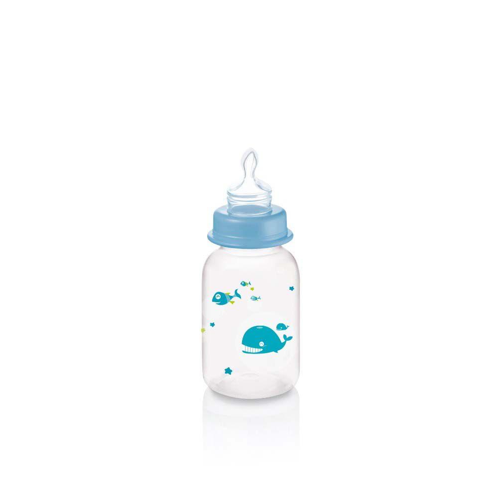 Mamadeira Ocean 125ml Azul - Multikids Baby
