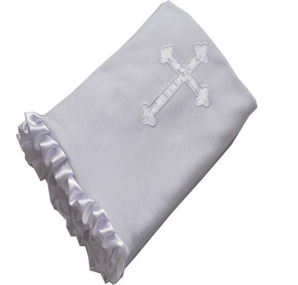 Manta Batizado em Malha - Zip Toys