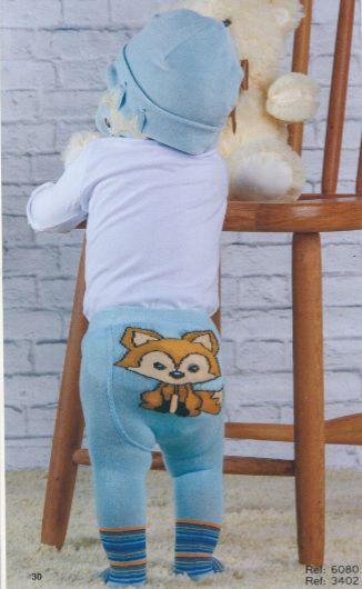 Meia Calça Bebê Everly - Raposa Azul
