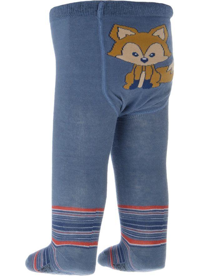 Meia Calça Bebê Everly - Raposa Cor Jeans