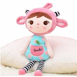 Metoo Doll Duende Sorriso Cereja Rosa