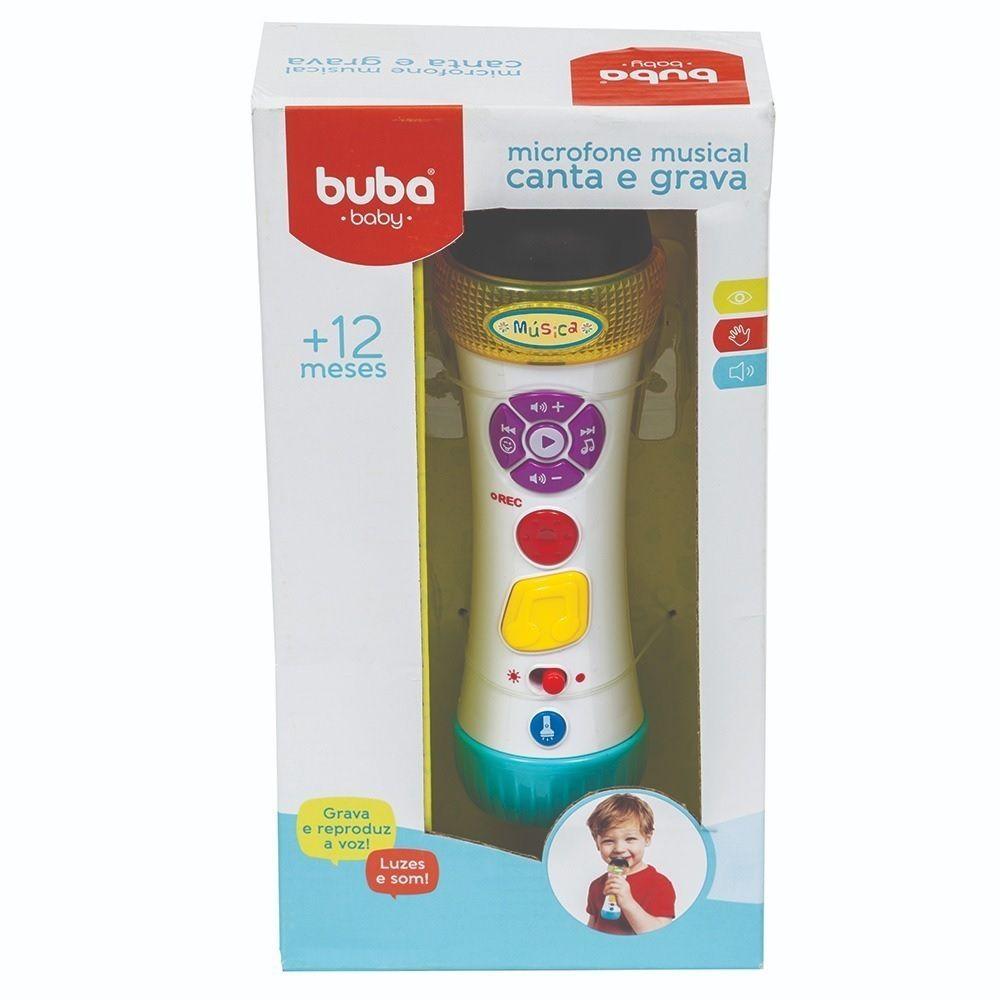 Microfone musical canta e grava - Buba Baby