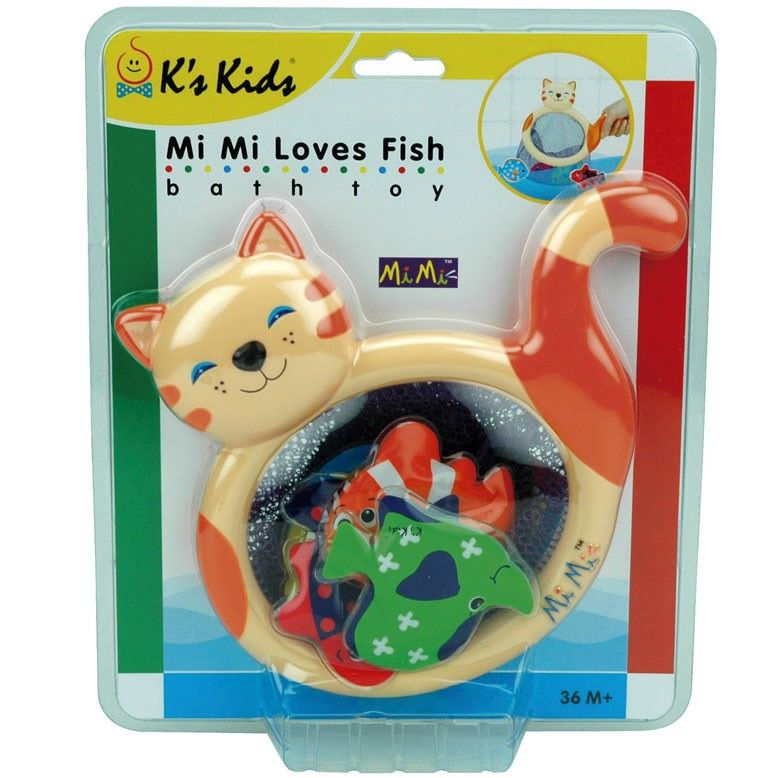 Mini Banho Divertido MI Mi Loves Fish - K´s Kids
