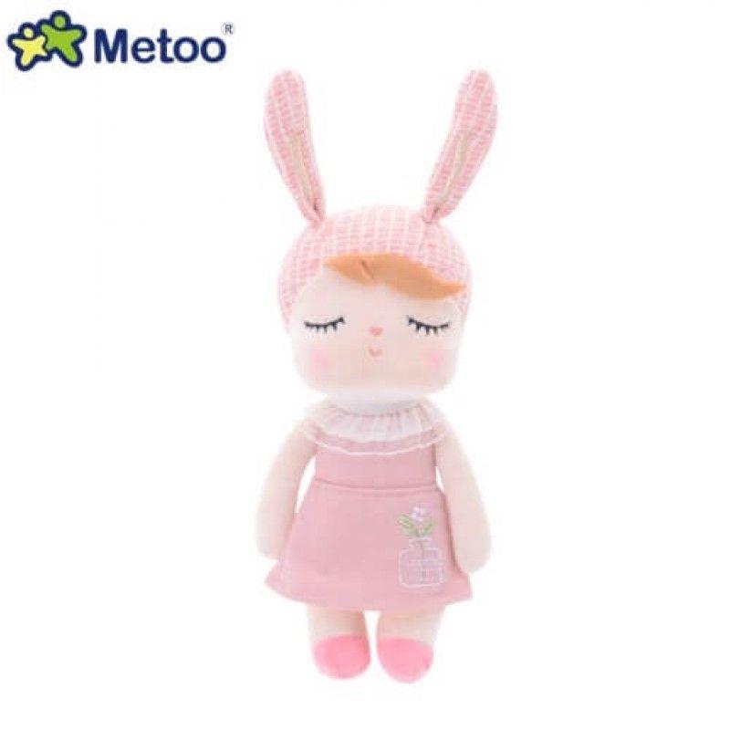 Mini Metoo Angela Jardineira Rosa - Metoo Doll