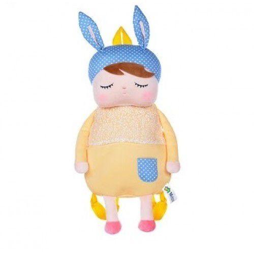 Mochila Angela vestido Amarelo - Metoo Doll