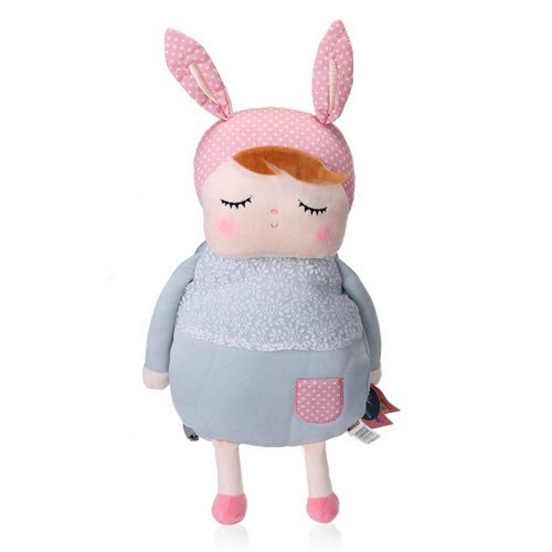 Mochila Angela vestido cinza - Metoo Doll