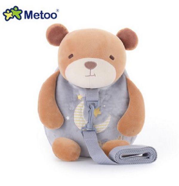 Mochila com guia Urso - Metoo
