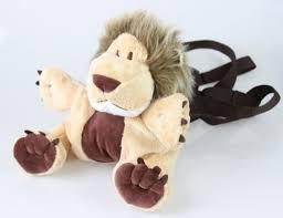 Mochila Infantil com Alça Guia Leão - Zip Toys