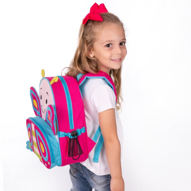 Mochila Let´s Go Borboleta Cindy - Comtac Kids