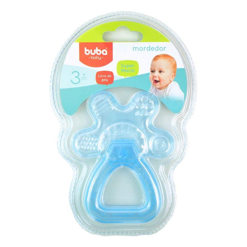 Mordedor Chocalho com Água Azul - Buba Baby