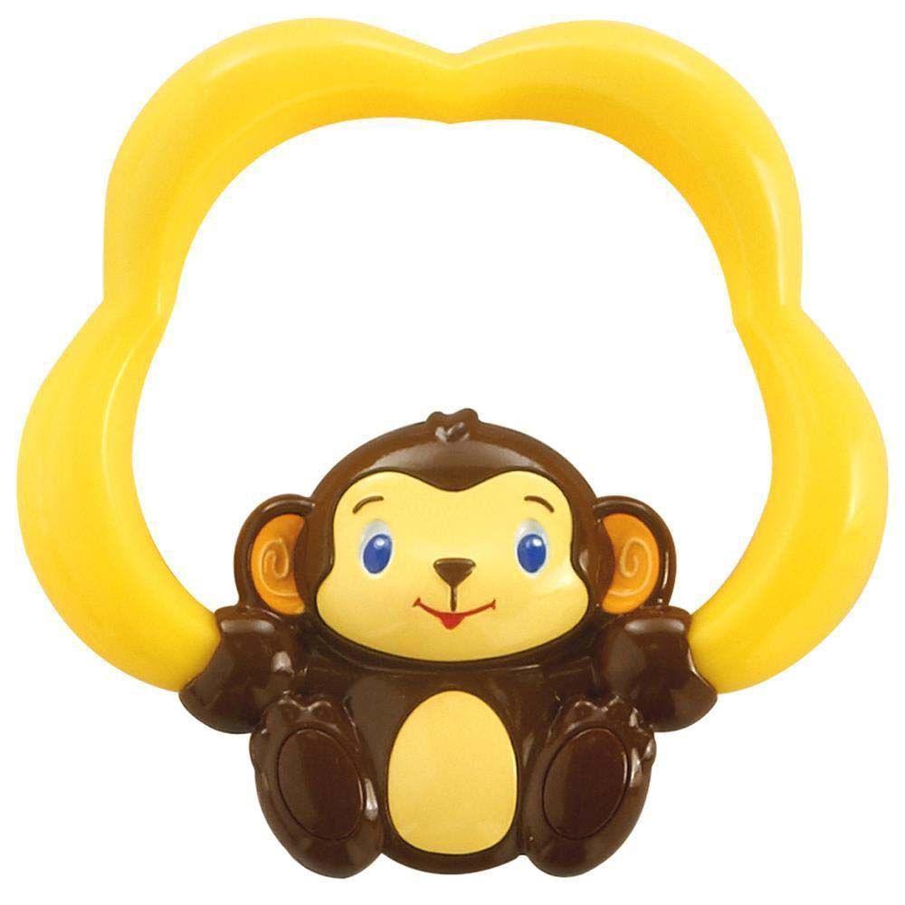 Mordedor com Água Safari Bright Starts - Macaco