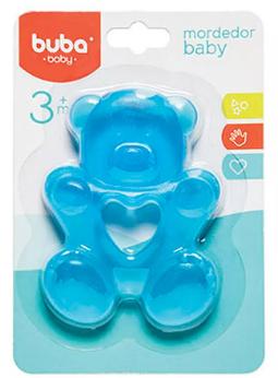 Mordedor com Água Urso Azul - Buba Baby