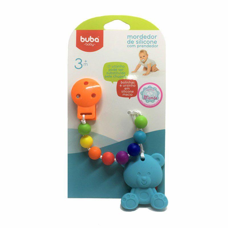 Mordedor de Silicone com Prendedor - Buba Baby