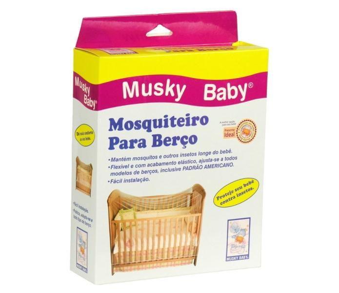 Musky Baby Mosquiteiro para Berço