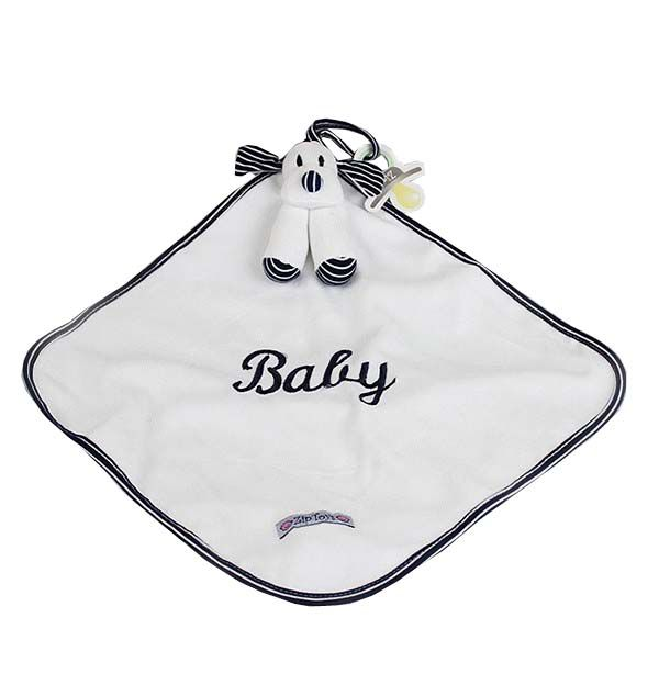 Naninha Bebê Cachorro Azul - Zip Toys