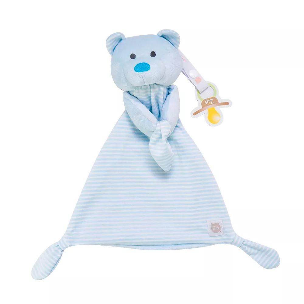 Naninha com Prendedor Chupetas Urso - Zip Toys