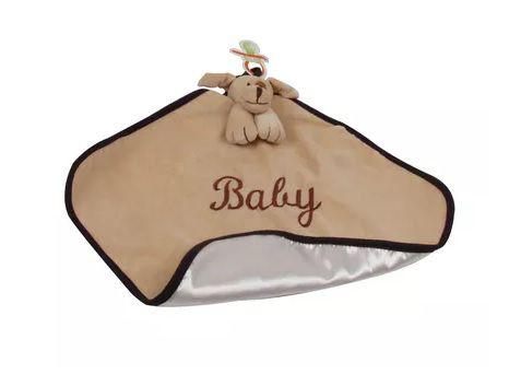 Naninha Para Bebê Cachorrinho Totó Amendoa - Zip Toys
