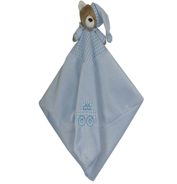 Naninha Para Bebê Urso Nino Azul - Zip Toys