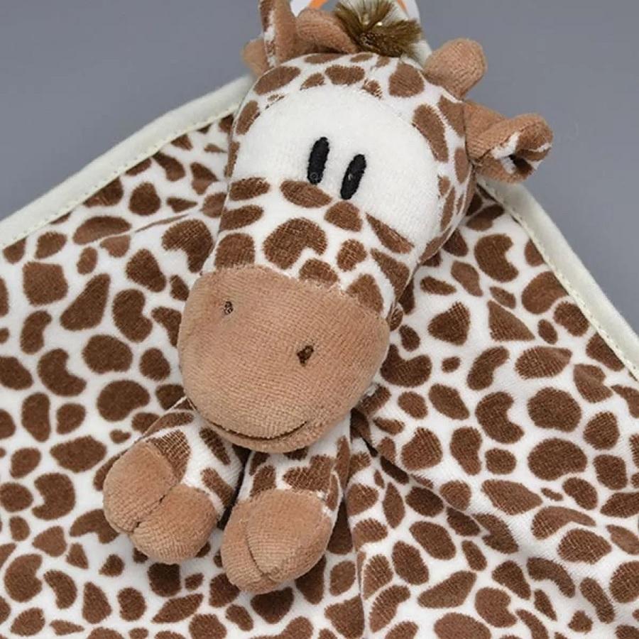 Naninha Plush e Cetim Girafa Isis - Zip Toys