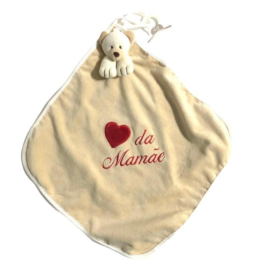 Naninha Plush e Cetim Ursinho Amor da Mamãe - Zip Toys