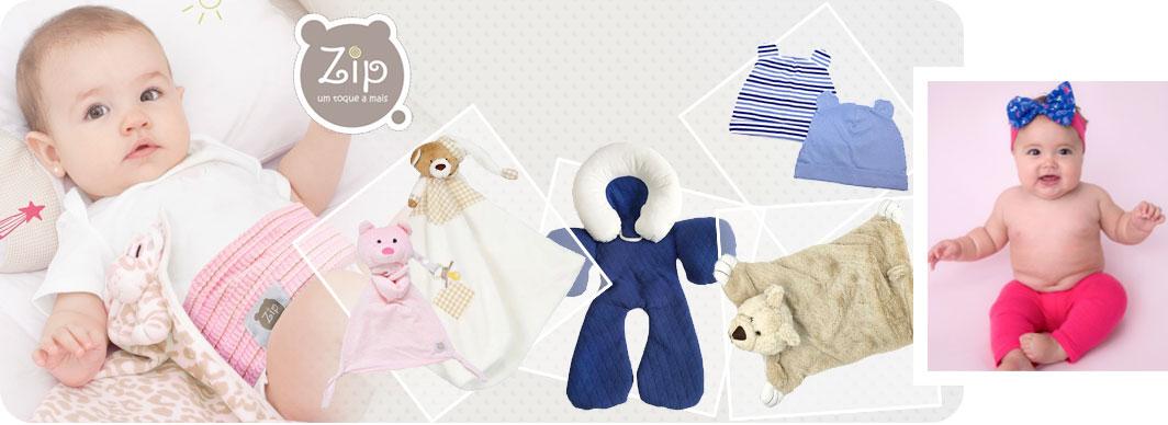 Naninha Plush e Cetim Ursinho Bege - Zip Toys
