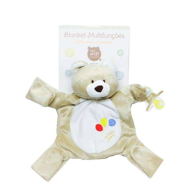 Naninha Zip Toys - Blanket Multifunções
