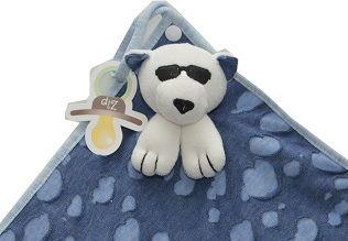 Naninha Zip Toys - Malha Algodão Urso Rock Star