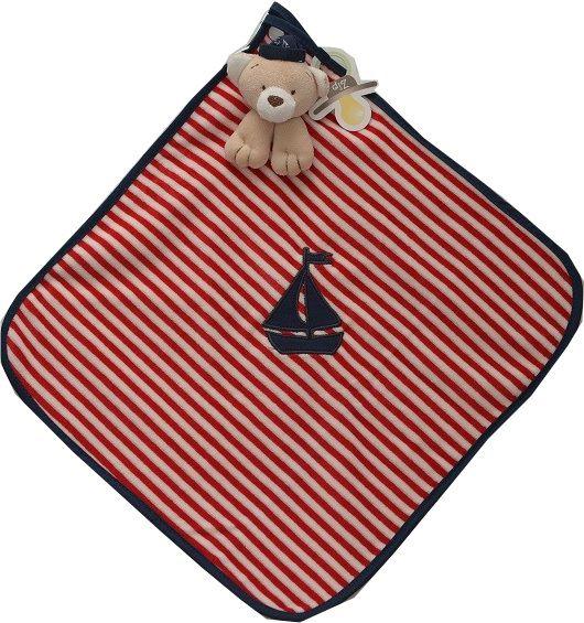 Naninha Zip Toys - Plush e Algodão Marinheiro