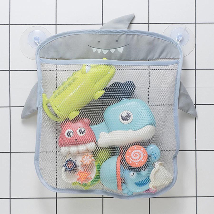 Organizador de Brinquedos para Banheiro Tubarão - Baby