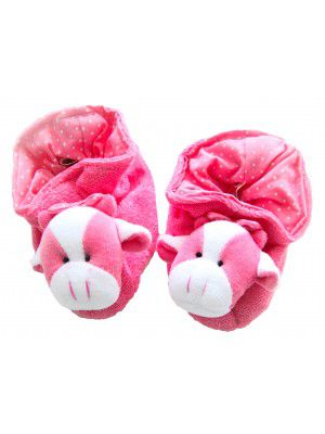 Pantufa Atoalhada Brenda - Zip Toys