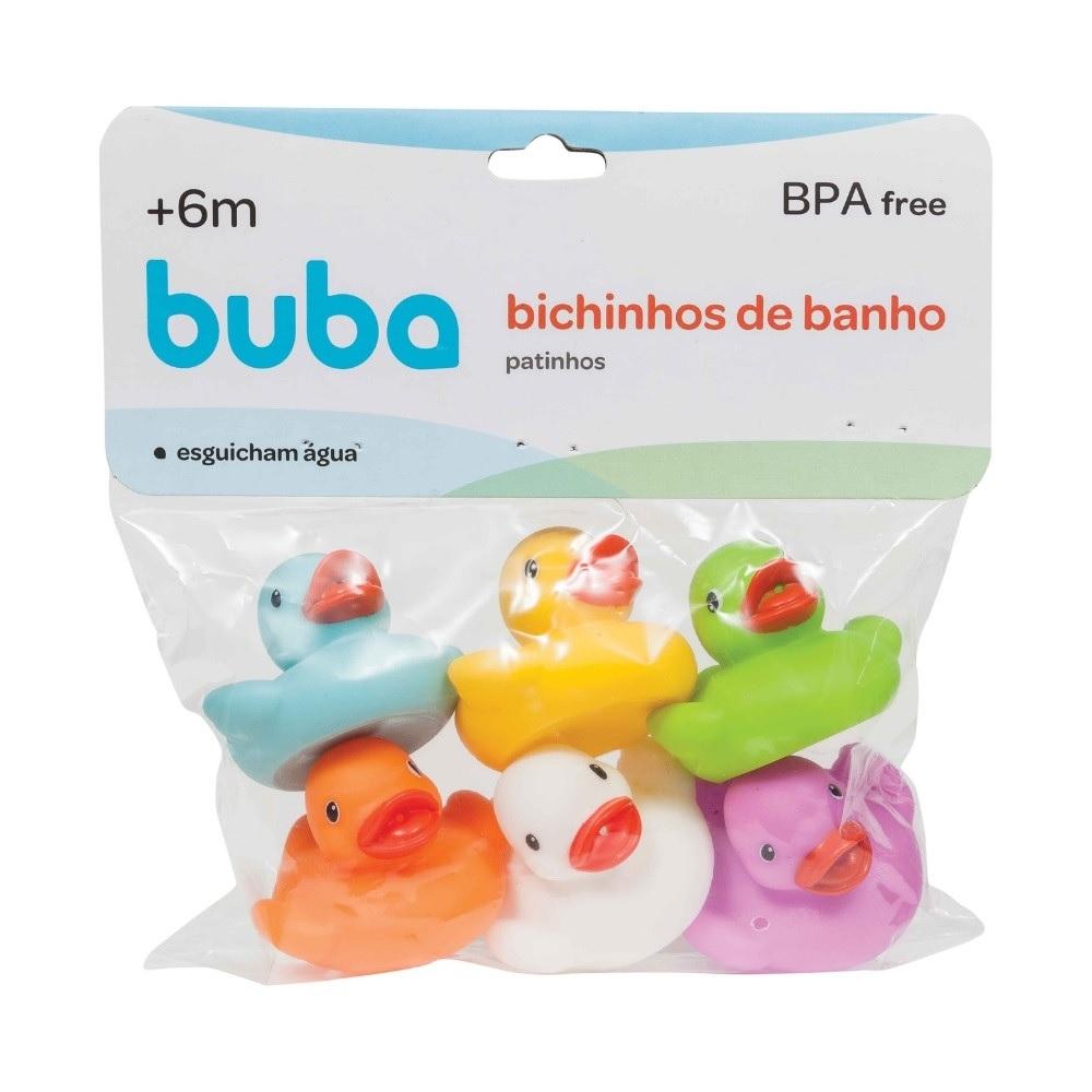 Patinhos Coloridos de Banho - Buba Baby