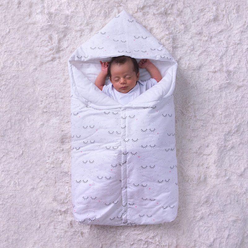 Porta Bebê com Capuz Ursos - Papi Baby