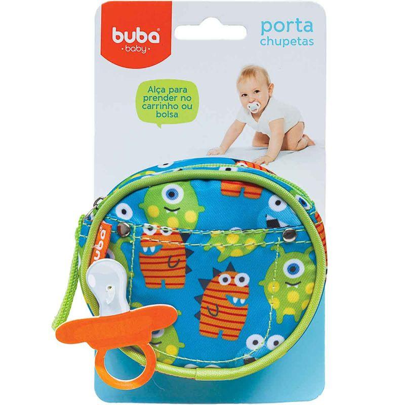 Porta Chupeta Monstrinhos - Buba Baby