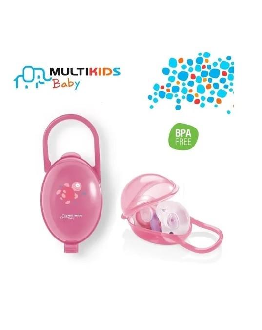 Porta Chupeta Transparente -  Multikids